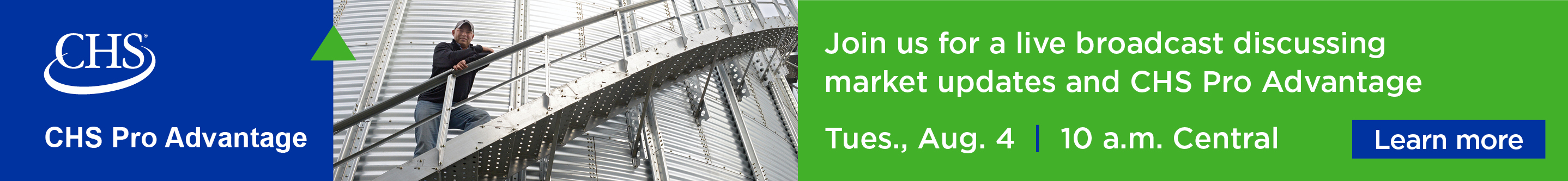 Join us to hear about market updates, CHS Pro Advantage